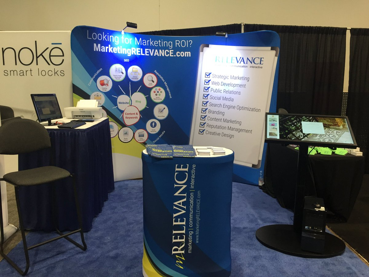 Day 2 of #IBSVegas has officially begun! Check out our awesome booth! C2665 @mRELEVANCE https://t.co/GyrBPnGK96