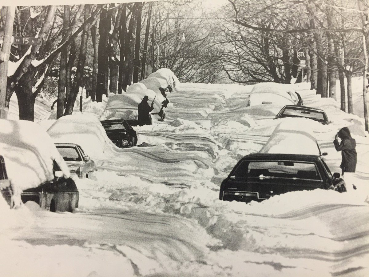 Your neighborhood may look like this by Sunday, the number 3 biggest DC SNOW Feb 19, 1979 https://t.co/1HfVgTTyc6 https://t.co/OOW7M1DyW4