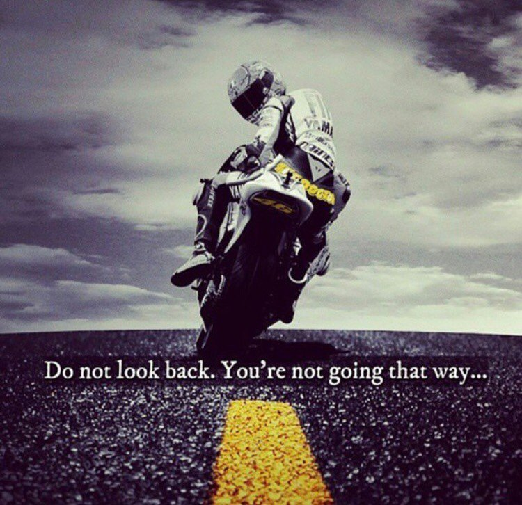 "Don T Look Back You Re Not Going That Way: P&H Motorcycles Ltd On Twitter: ""Do Not Look Back. You're"