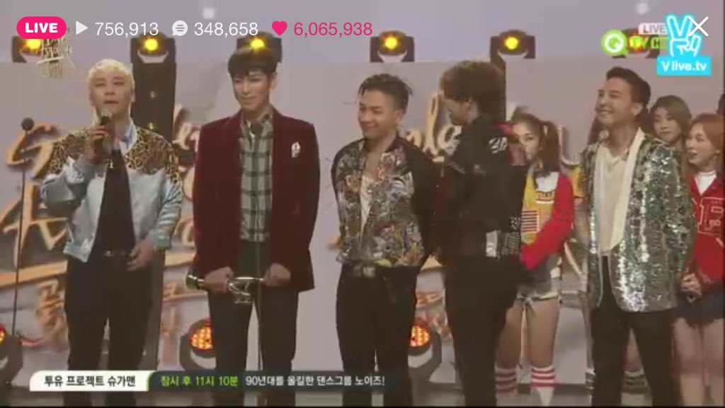 BIGBANG GOLDEN DISC AWARD