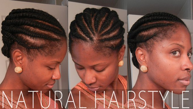 Natural Hairstyle Goddess Updo naturalhair beauty hairstyle