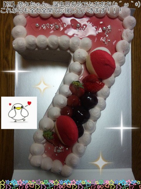奈々ちゃん誕生日おめでとうございます(*´ω`*)  それとLIVE ADVENTUREのBD、DVD発売日なので嬉しいです! これからも全力全開で前に突き進む奈々ちゃんを応援し続けていきます(≧ω≦)ノ #水樹奈々生誕祭2016 https://t.co/UqvgPrPEKN