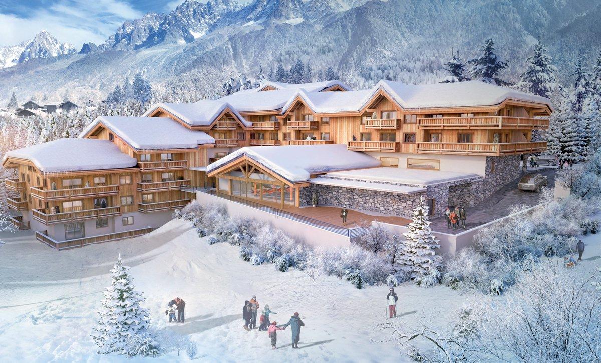 """mgm properties on twitter: """"a new mgm development in chamonix ski"""