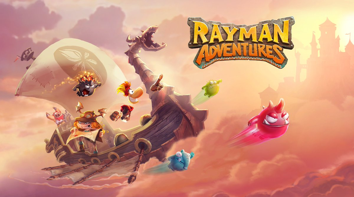 I just finished adventure 3 in #RaymanAdventures! http://ubi.li/h4p7k