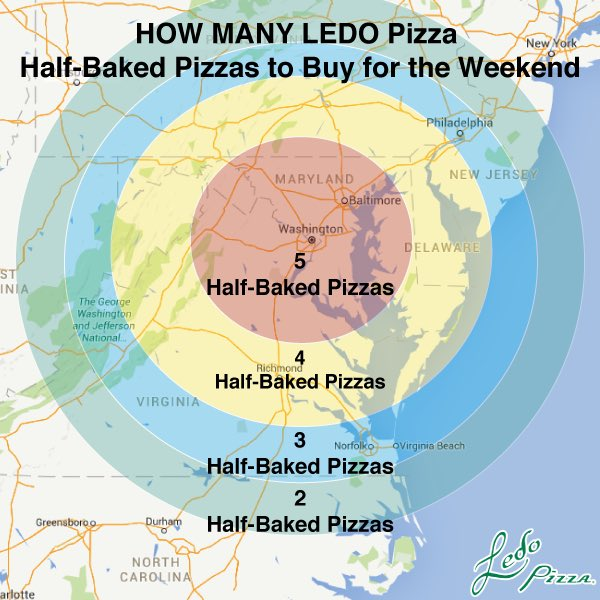 Snowstorm Map GIVEAWAY❄️⛄️ Retweet for a chance to win a $25 #LedoPizza Giftcard! 1 winner picked at 9:59pm 1/20/16 https://t.co/F6aGrXTxiH