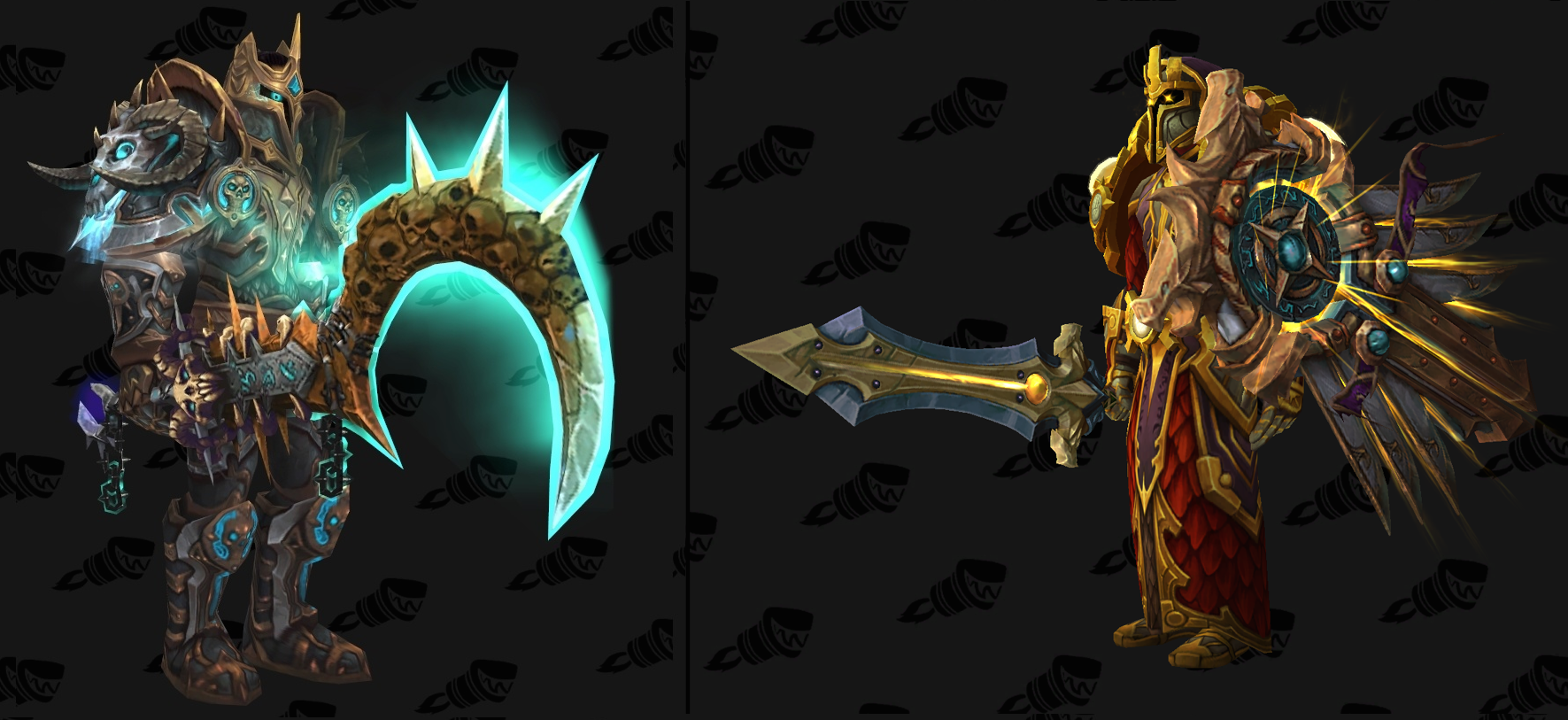 wowhead on twitter which plate tier 19 mythic set do you like more dk or paladin https t. Black Bedroom Furniture Sets. Home Design Ideas