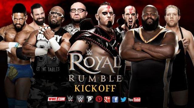 Добавлен матч на пре-шоу Royal Rumble