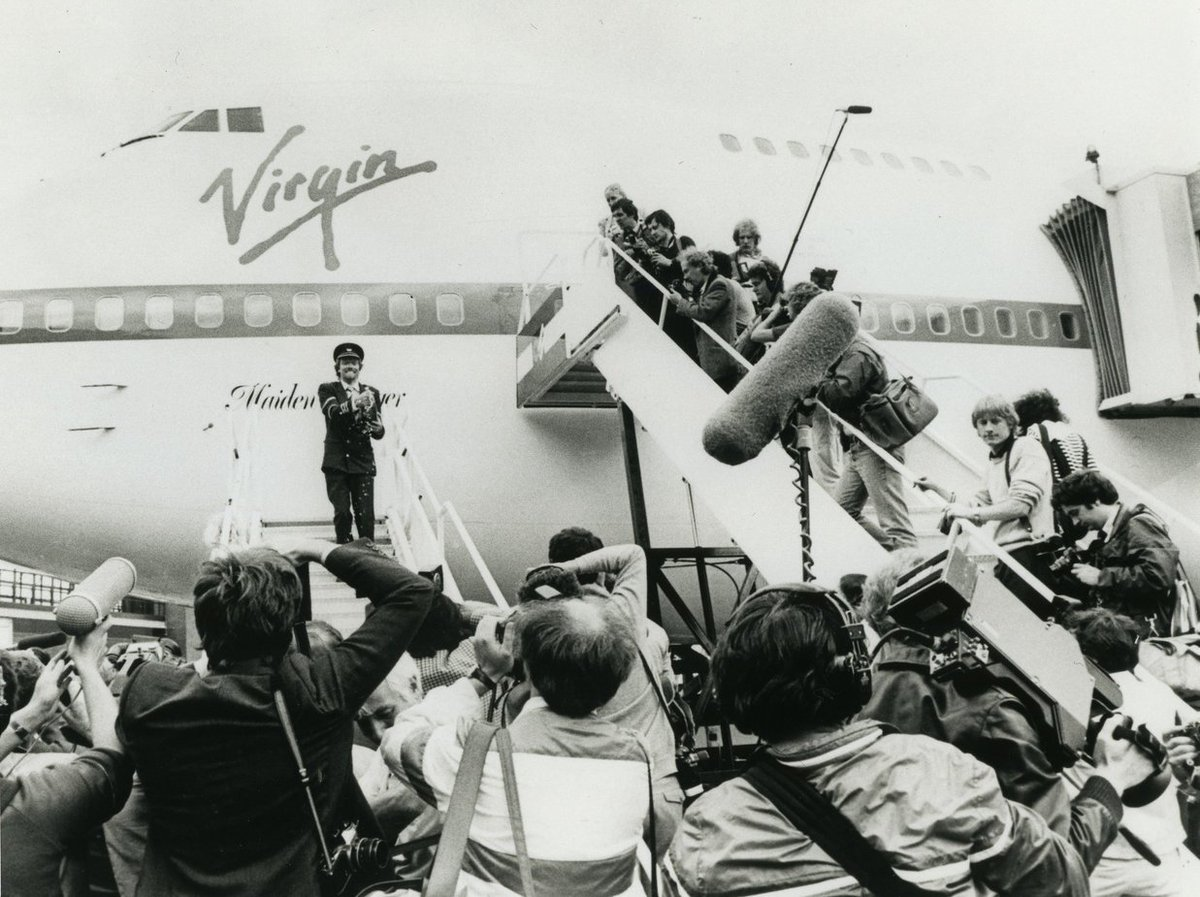 Richard Branson On Twitter From Teenage Hippy To Airline Founder