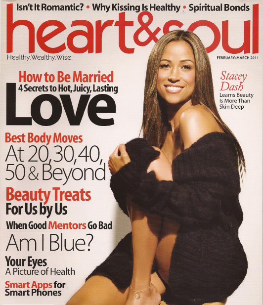 Remember that time @REALStaceyDash adorned the cover of a Black health magazine, Heart & Soul? Hmmmm. https://t.co/Egr6c8ExpB