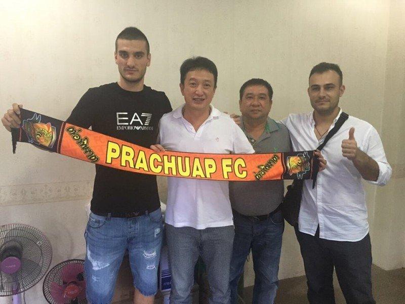 Kirovski has signed with Prachuap