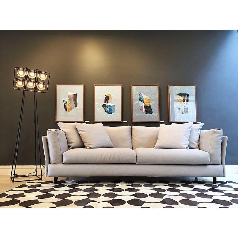 Sofá Adele - Novidade iBacana  Design italiano, sofisticação e muito conforto no novo sofá… http://ift.tt/1P65xQ9