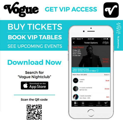 The Vogue Theatre On Twitter We Have Our Own App Get Tickets - Table reserve app