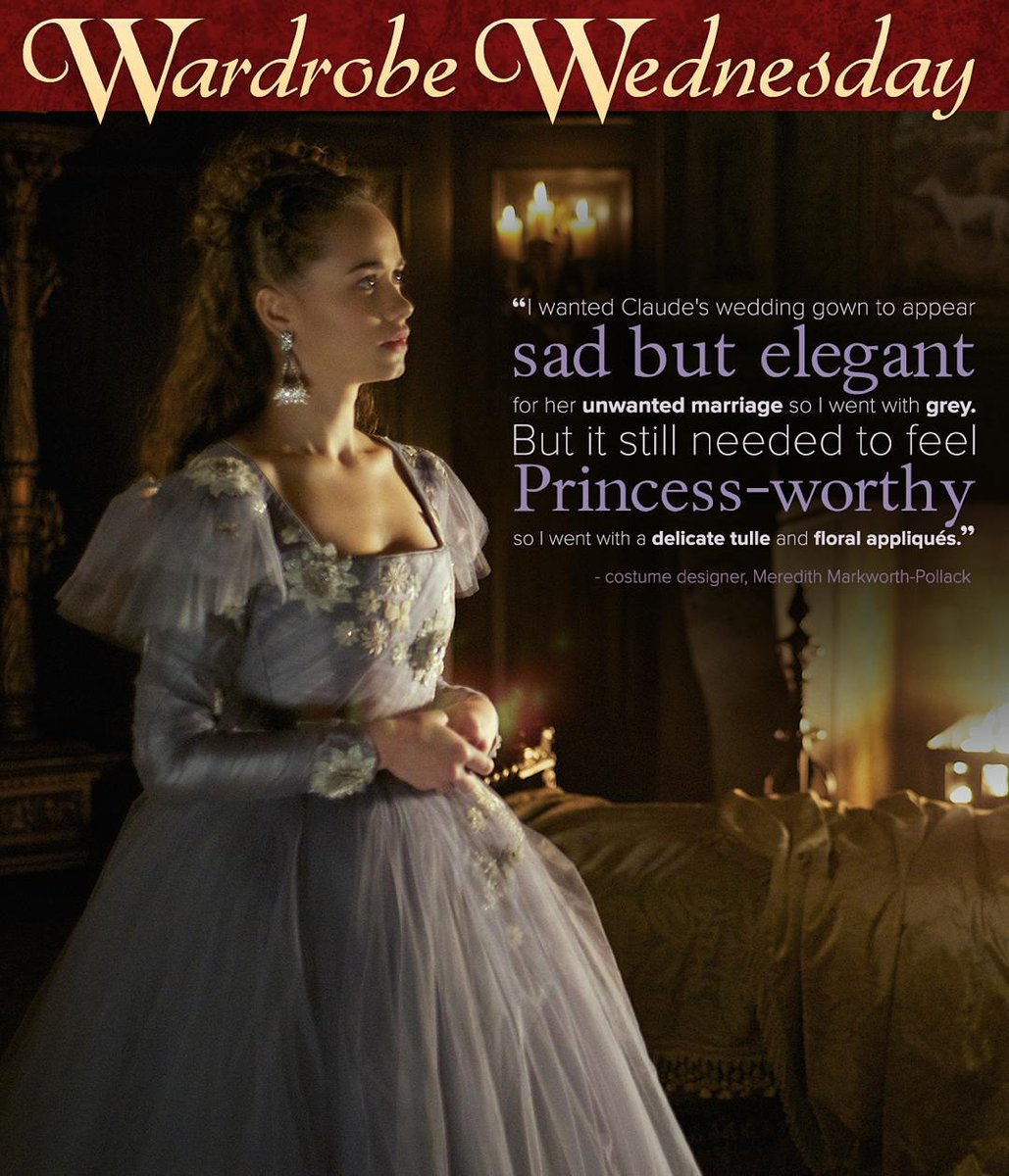 Morereign On Twitter Wardrobewednesday Claude S Wedding Dress
