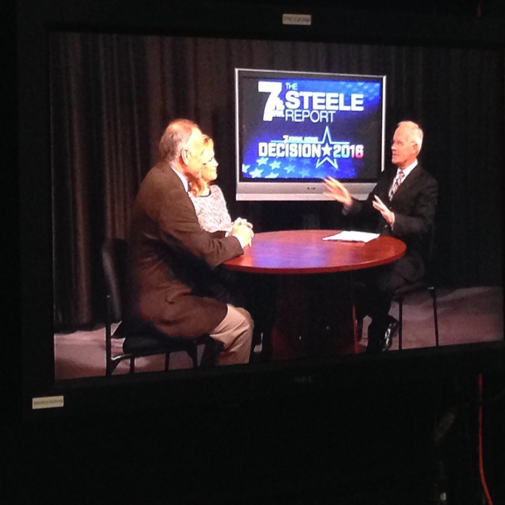 Sen. Ted Cruz's wife and Rep. Steve King as guests on the Steele Report. Hear from them tonight! https://t.co/7mkKrLzmeG