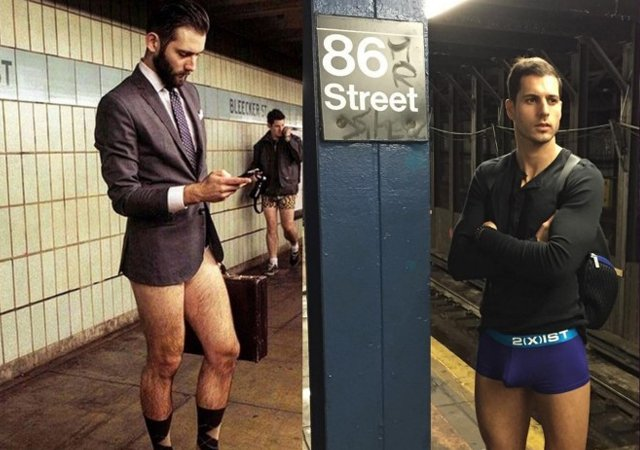 Me vel Pene en Metro