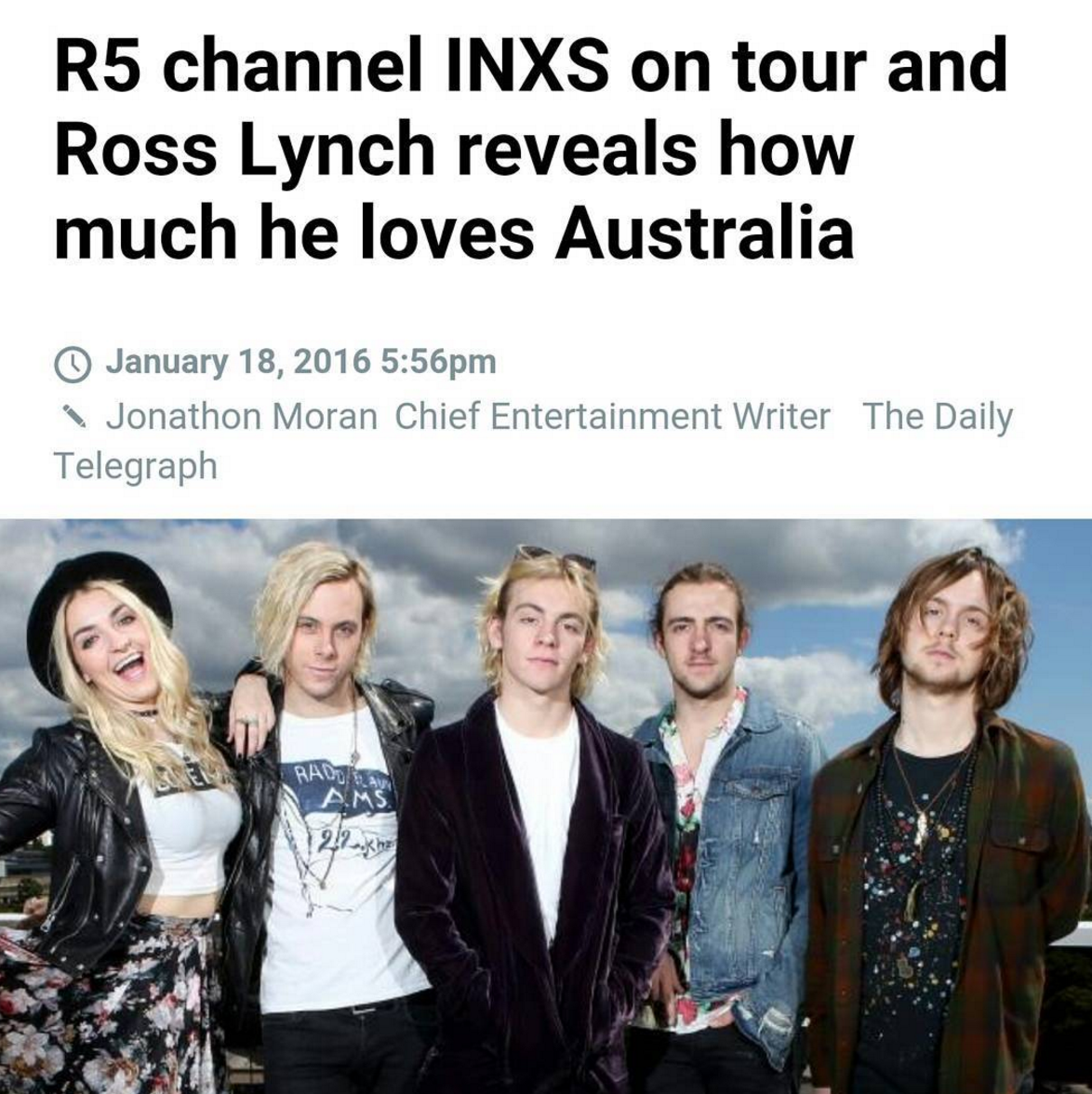 We love young talent. Whats your favorite song @officialR5 ? @rossR5, @rikerR5, @rockyR5, @rydelR5 @ratliffR5 #R5 https://t.co/h9ZzFMGNjs