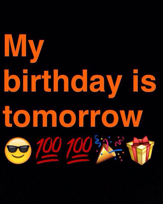 Fantastic Joshua Hurd On Twitter Yes Friends My Birthday Is Tomorrow Im Funny Birthday Cards Online Necthendildamsfinfo