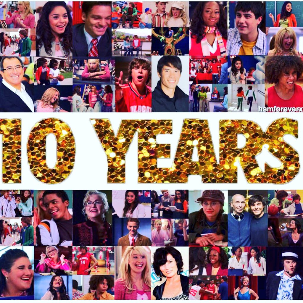 It's official here! HSM 10 Year Anniversary! I am so grateful to have been a part of these works of art