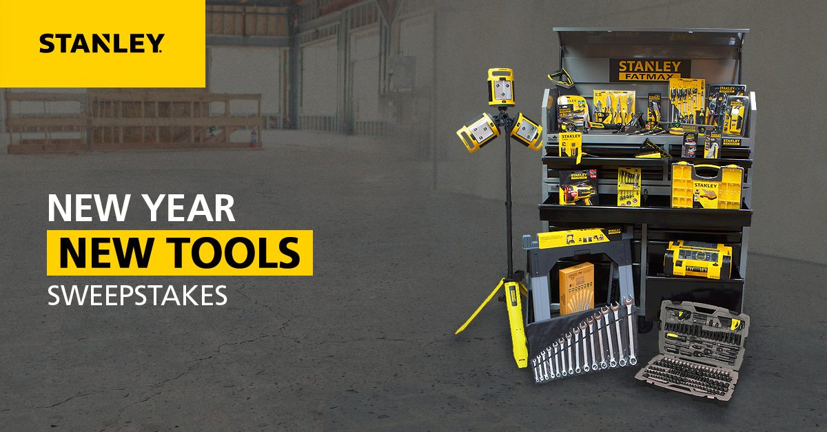 How about a garage full of new tools? Enter here => https://t.co/p1K4vI0tu9. #NewYear #NewTools https://t.co/5SS9b5pzYK