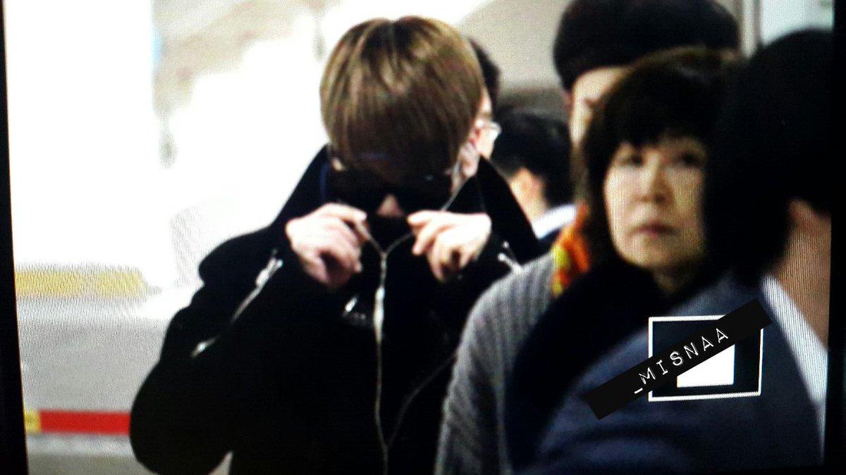 160121 Jonghyun @ Aeropuerto Gimpo {Regreso a Corea} CZNjZwhWwAIWM2y