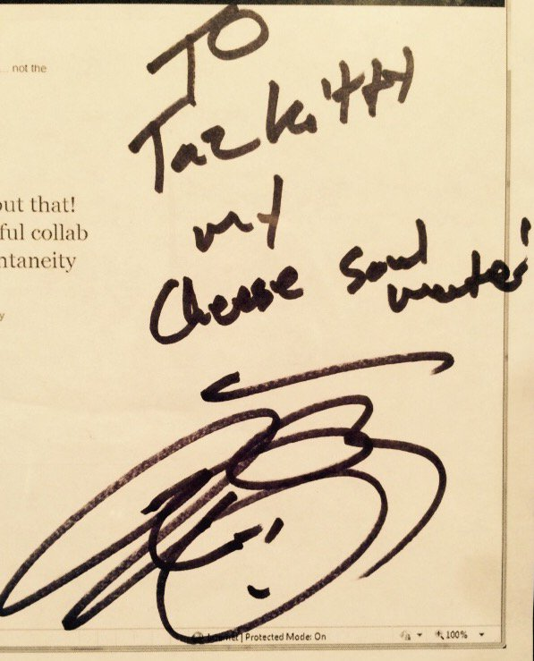 #NationalCheeseLoversDay & remembering when @joshgroban & I were once cheese soul mates (I asked him to write this)