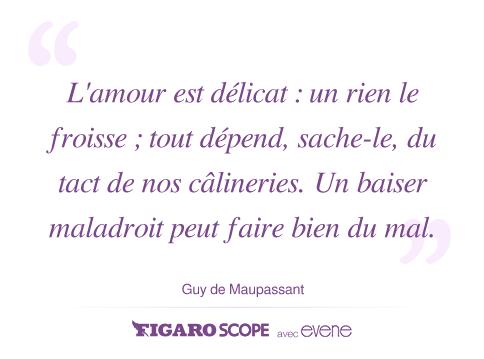 Journée Câlins Guy Maupassant Amour Citation Journée