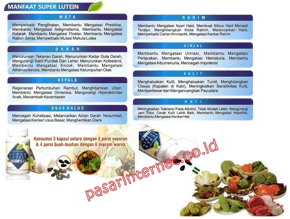 Manfaat dan khasiat S Lutena