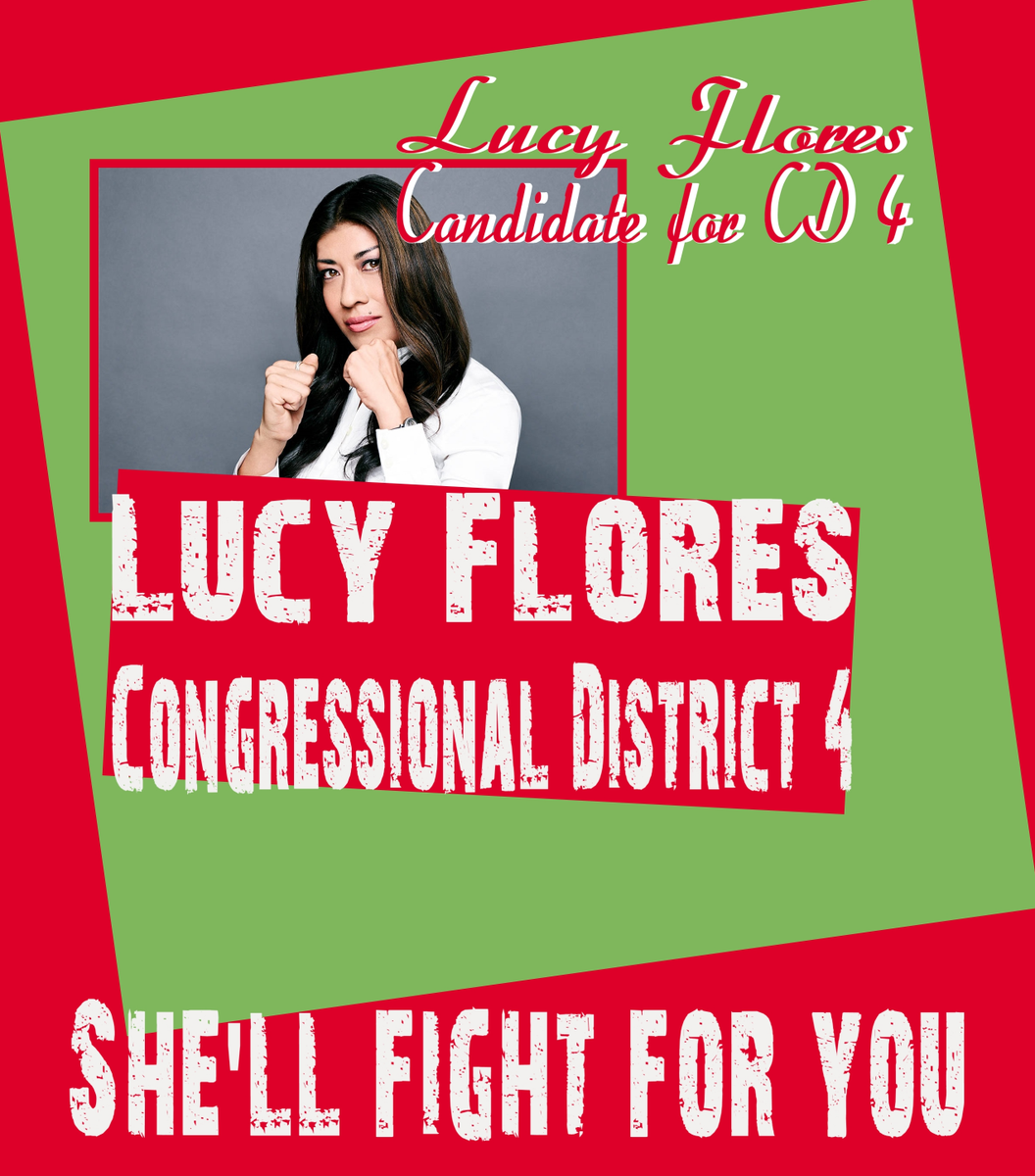 Hey #NV #CD4 @LucyFlores is a #Berniecrat #Vote4Lucy! https://t.co/KNFzQOarYP