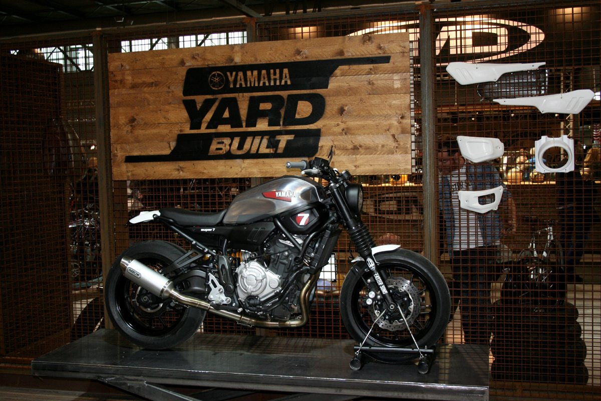 CafeRacerCultgr On Twitter XSR 700 SUPER 7 By JVB Moto Yamaha