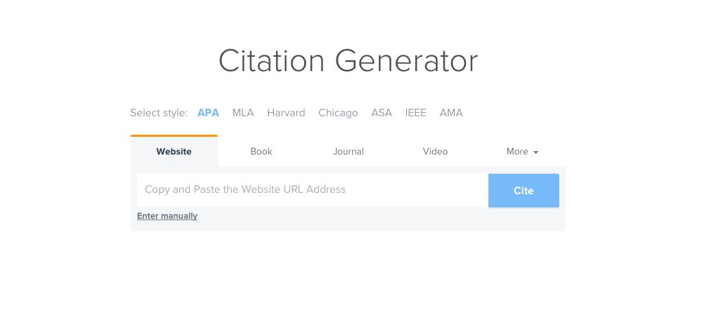 free cite generator