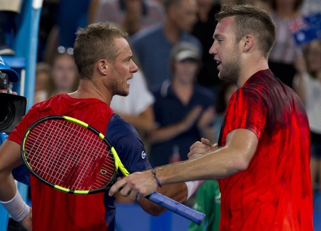 You were the guy to watch when I was growing up, an idol for every tennis player. All the best @lleytonhewitt
