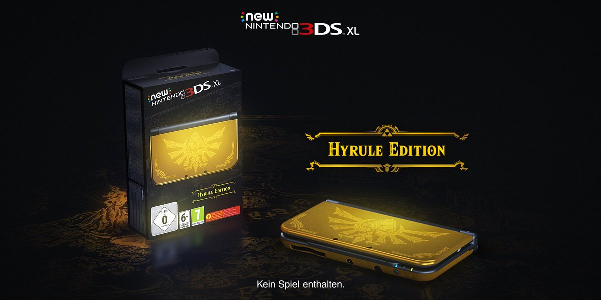 New 3DS XL - Hyrule Edition