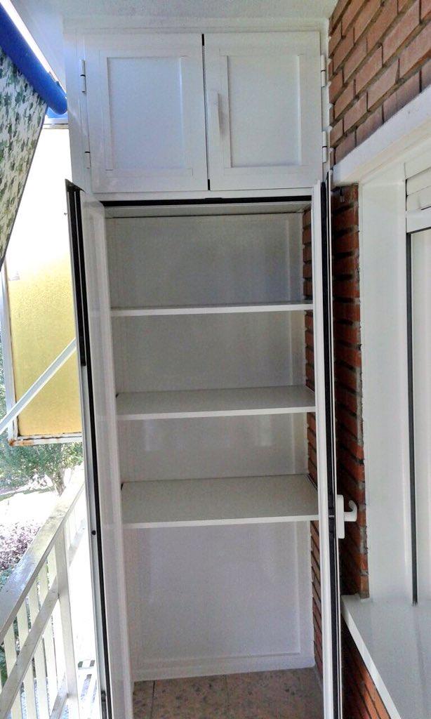 Armario de aluminio para terraza finest with armario de - Armarios para terrazas ...