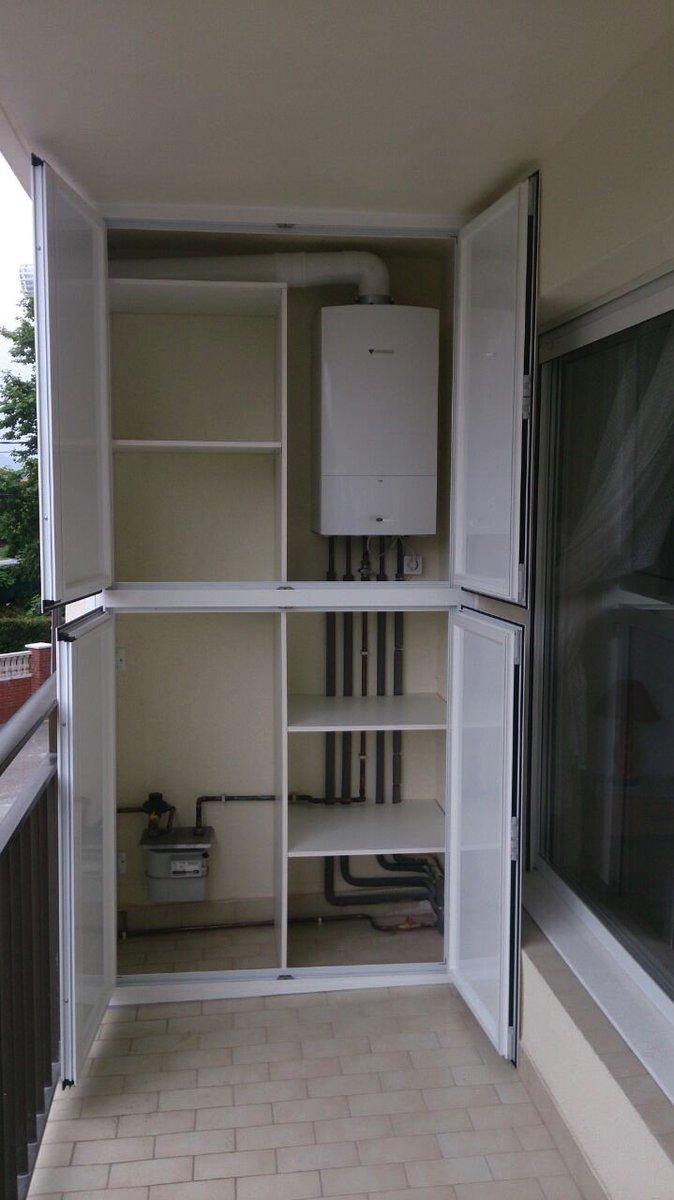 Armario De Aluminio Para Exterior Cool Puertas Cerradas En Blanco  ~ Armarios De Aluminio Para Exterior