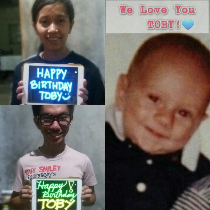 HAPPY BIRTHDAY @TobyMcDonough WE LOVE YOU FROM ME AND MY NEPHEW :) @BeforeYouExit @RileyMcDonough @ConnorMcDonough https://t.co/5vMO1qOYEz