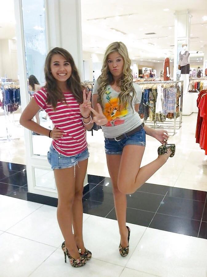 "Girls in High Heels on Twitter: ""2 Teen Girls in Denim ...: https://twitter.com/HeelsGirls/status/690199521192734720"