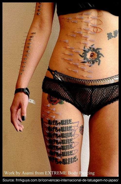 Intim piercings extrem Category:Topless women