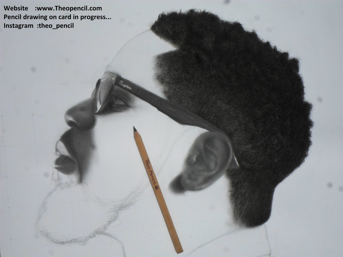 Theo pencil on twitter website https t co wkzhc5sdp9 pencil and charcoal drawing on card in progress theopencil sarkodie https t co 3bs0cuqvo8