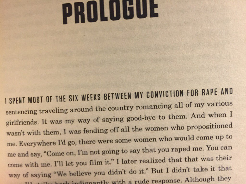 The amazing opening sentence of Mike Tyson's autobiography https://t.co/AEAuw7X1ZN