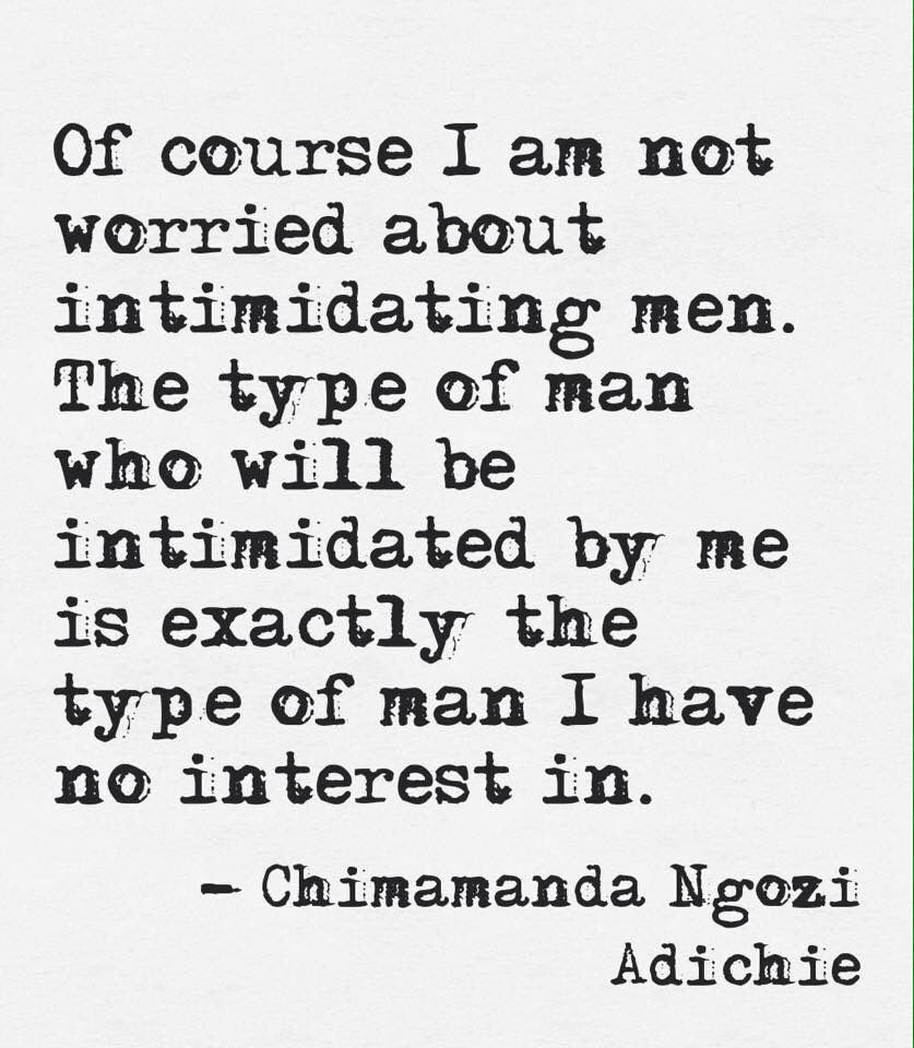 Intimidated men women by 10 Ways