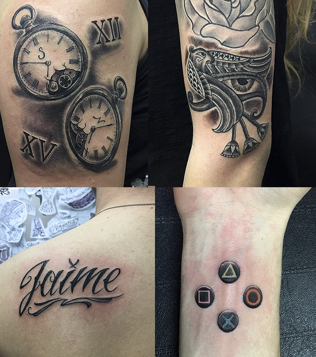Pura Vida Tatuajes On Twitter Tattoo By At Cesarrbtattoo Reloj
