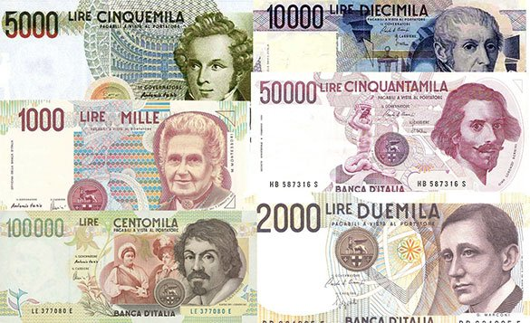 Conversione valuta lira-euro in una qualsiasi filiale della Banca d'Italia