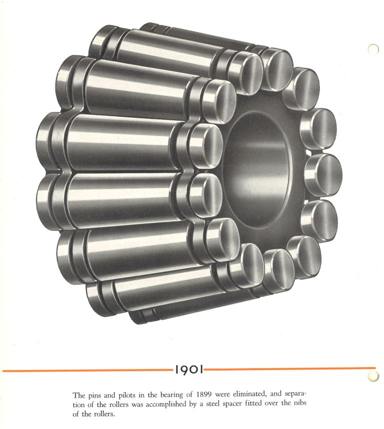 We're the leader of tapered roller bearings—and beyond. Here's our first production #bearing from 1901. #TBT https://t.co/MCjPWxlxsL