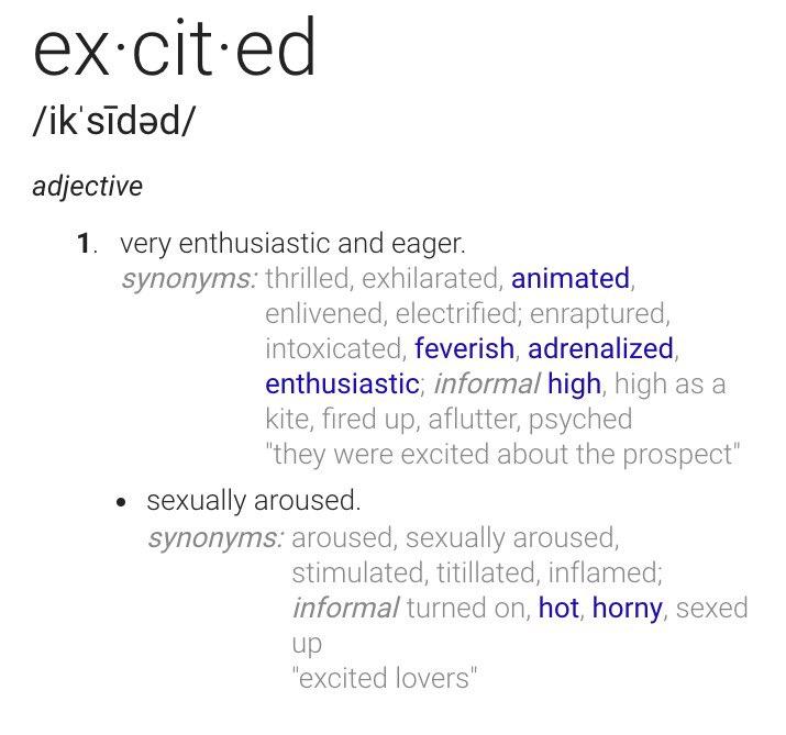 Sexually arousing synonym