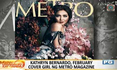 #UKG Showbiz: Kathryn Bernardo, February cover girl ng Metro Magazine https://t.co/dOPYkUoaVV