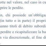 RT @PgGrilli: #bailin Fonte #Bankitalia  Impressionante l'ignoranza sull'argomento che si è sentita a #Piazzapulita escluso Borghi