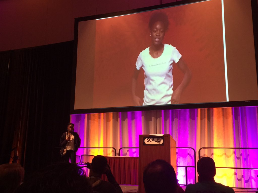 The open source future is in good shape w/inspiring young people like Kayla Banks. #scale14x #FOSS #OpenSource #STEM https://t.co/tXXZfnRvHj