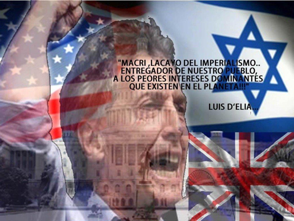 Risultati immagini per macri sionista