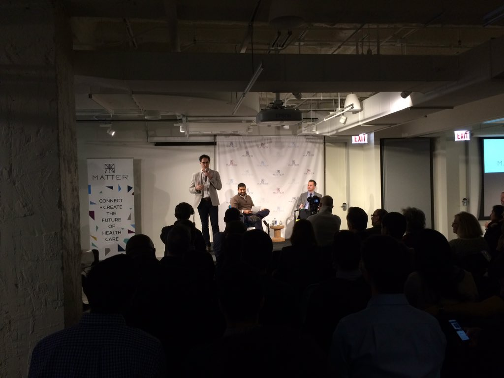 Fearless leader @scollens introducing @RishiShah and @GriffinRMyers #TalesFromTheTrenches https://t.co/ZWjyXDOSVM