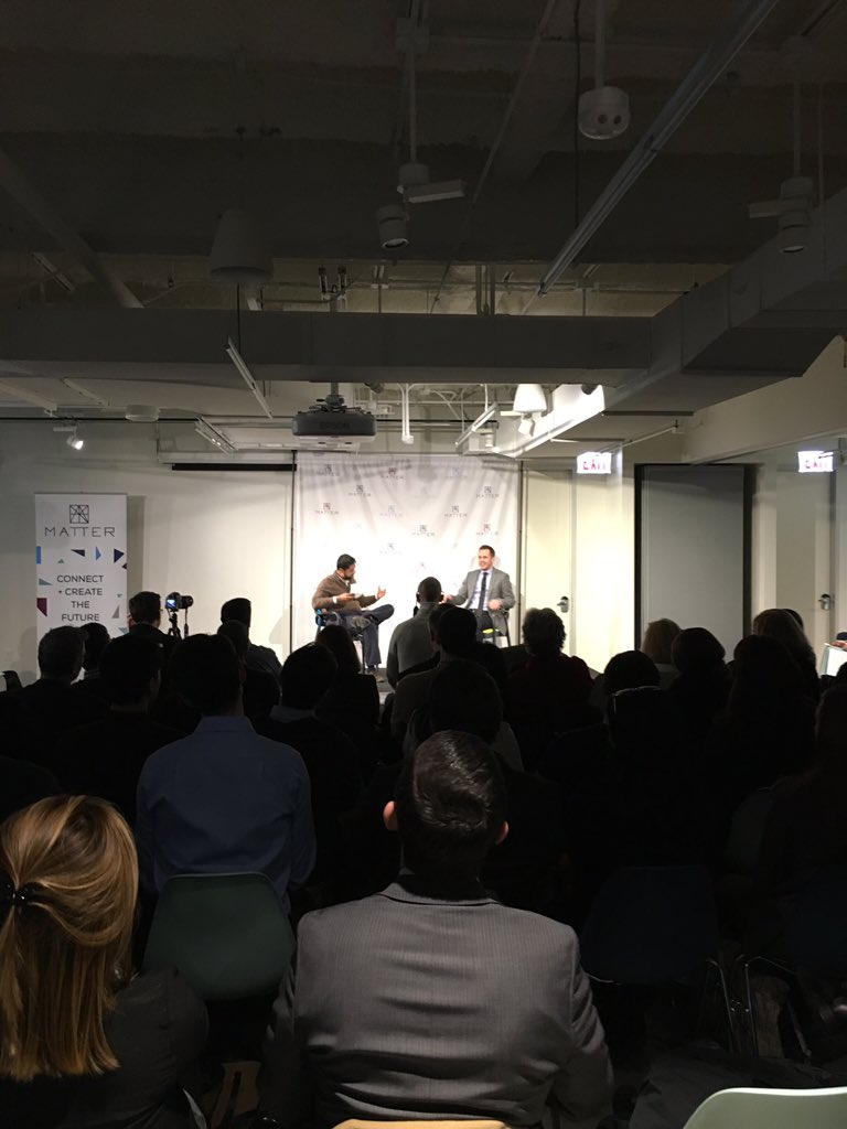 Connecting dots with @OakStreetHealth at @MATTERChicago #talesfromthetrenches https://t.co/ayL4KilpmU